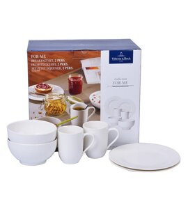 Набор посуды Villeroy and Boch For Me 10-4153-7041 6пр.