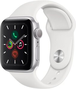 Смарт-часы Apple Watch Series 5 44mm Aluminum Silver (MWVD2)