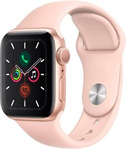 Смарт-часы Apple Watch Series 5 LTE 44mm Aluminum Gold (MWWD2)