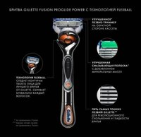Бритва Gillette Fusion ProGlide Power FlexBall + 1 кассета