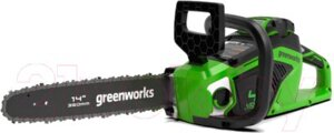 Электропила цепная Greenworks GD40CS15
