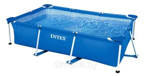 Каркасный бассейн Intex 28272 Rectangular Frame Pool 300x200x75
