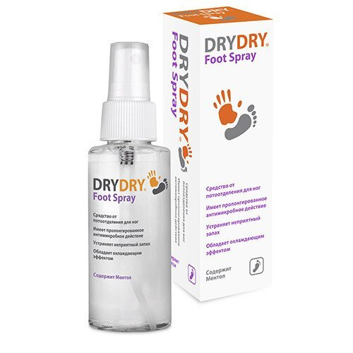 DRY DRY Foot Spray ##от компании## TOP500 - ##фото## 1