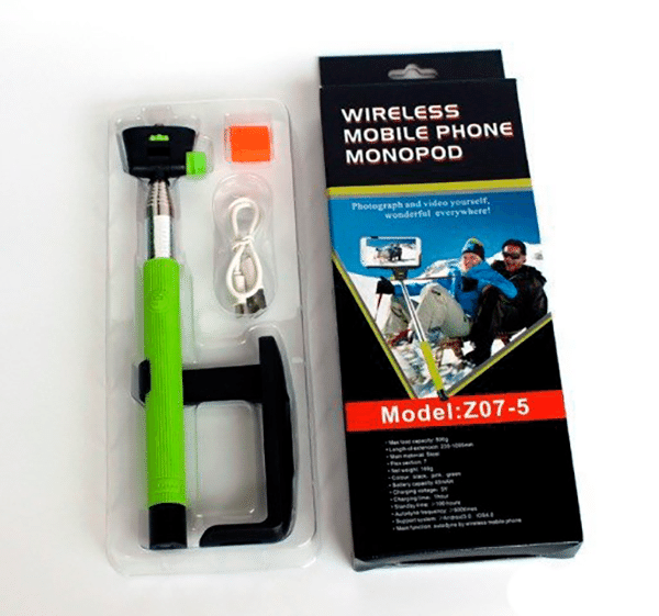 Монопод Selfie Stick  Z 07- 5 . ( bluetooth ) ##от компании## TOP500 - ##фото## 1