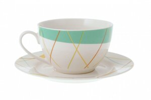 Чайный набор Lateen (cup&saucer with decal) 12 предметов