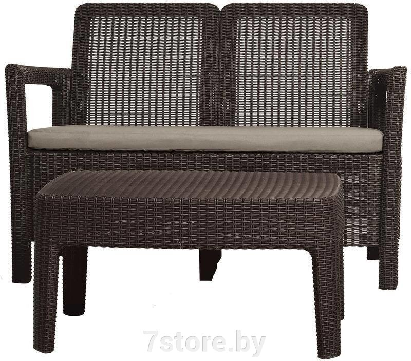 Комплект мебели Keter TARIFA SOFA + TABLE (диван+столик) ##от компании## 7store - Ваш интернет-магазин - ##фото## 1