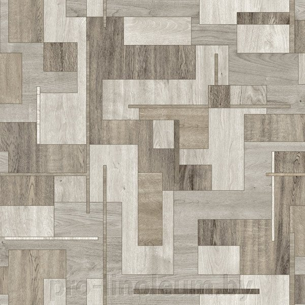 Линолеум Juteks Respect Blocks 169M ##от компании## Pro-linoleum - ##фото## 1