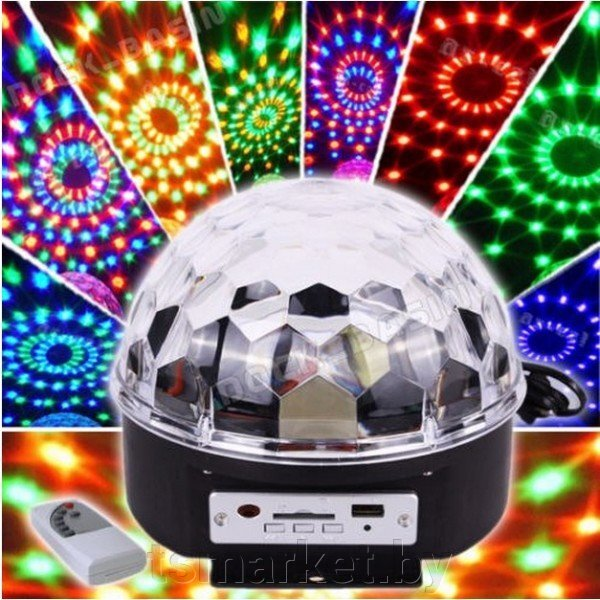 Диско-Шар LED Crystral Magic Ball Ligh ##от компании## TSmarket - ##фото## 1