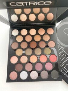 Палетка теней Catrice Cosmetics Chocolate NUDES HD Matte & Shine Eyeshadows Pallete 32 оттенка № ESCT-01 в Минске от компании TSmarket
